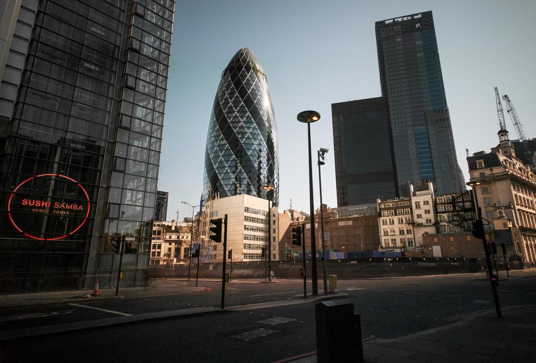 Gherkin Empty London-2